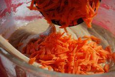 Ajouter les carottes râpées.