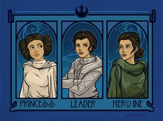 Princess. Leader, Heroine Small Print