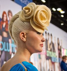 Aquage stage from ABS March 2012, Americas Beauty Show by Natasha J Photography, via Flickr