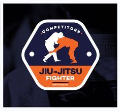Patch – Jiu-Jitsu Fighter