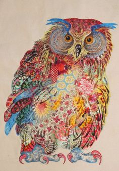 pic.jpg (408×585)  Owl collage