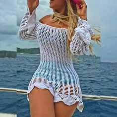Fashionmia is a professional Swimwear online store that provides you high quality clothes, bags and accessories with great discount. Crochet Skirts, Crochet Clothes, Crochet Lace, Crochet Bikini, Sexy Outfits, Sexy Dresses, Fashion Dresses, Cute Outfits, Sexy Skirt