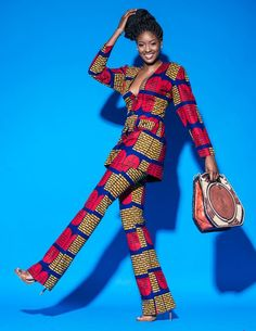 "Nigeria's Queen E. Presents A Beautiful Floral Collection Entitled ""Vividly Royal"" Collection 
