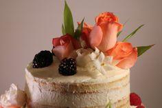 Naked cake para la Primera Comunión de Cristina