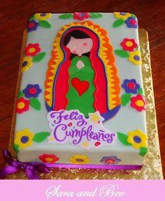 LA VIRGEN DE GUADALUPE~Virgencita Cake