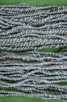 How spinning and plying direction affects knitting