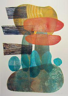 The Old Cells Studio - Michèle Brown Art: gelli plate