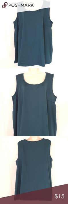 f4ede8026d2 Catherines Tank Top Career Shell Size 2X Green ITEM DESCRIPTION  Catherines  Tank Top Women Size