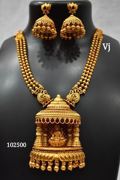 Gold Bangles Design, Gold Jewellery Design, Jewelry Design Earrings, Necklace Designs, Gold Temple Jewellery, Gold Mangalsutra Designs, Antique Jewellery Designs, Jewelry Patterns, Jewels