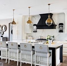 This kitchen via Pinterest, are you on Pinterest? Let's share , Just look for designsbyceres