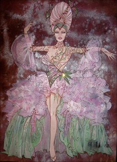 Follies. The Kennedy Center. Costume design by Gregg Barnes.