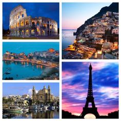 Booked! #Paris #Rome #AmalfiCoast #Sicily #Malta #Sept2015