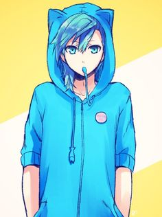 Too much blue!!! oAo but 'like it. c: >u< make a gif with it and... Épilepsie partyyyyyyy!!! Yeah yeah !! ♥ >u<