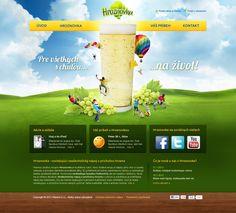 Grafický návrh webstránky pre nápoj Hroznovka. Web Design, Desktop, Design Web, Website Designs, Site Design