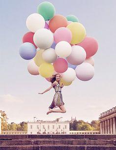 ballons make you smile
