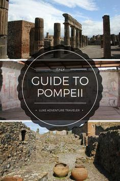 Do-It-Yourself Tour of Pompeii A guide to a do-it-yourself Tour, plus the best guided tours of Pompeii, ItalyA guide to a do-it-yourself Tour, plus the best guided tours of Pompeii, Italy Italy Travel Tips, Rome Travel, Travel Tours, Travel Guides, Asia Travel, Japan Travel, European Vacation, Italy Vacation, European Travel