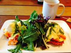 Smoked Salmon Eggs Benedict at Market & Rye, in San Francisco.    http://www.marketandrye.com