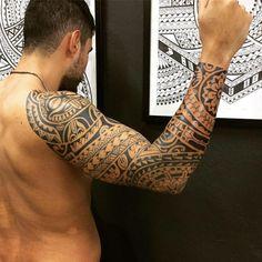 Good Luck Tattoo - Contatos: WWW.TATUAGEM.COM.BR - tatuagem@tatuagem.com.br - 011- 2897-8739 H.C #tattoo #tatuagem #tattoomaori #samoatattoo #tatuagemmaori #polynesiantattoo #maori #maoritattoo #hawai #tattootribal #marquesantattoo #polynesiantribal #tiki #tatau #tattoos #blackwork #tatouage #goodlucktattoogute #tatuaje #tattooartist #tatuaggi #tatoo #polynesiantattoo #polynesian #tatuadormaori