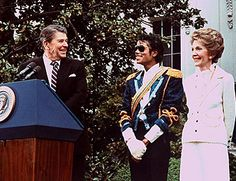 Image result for michael jackson and president