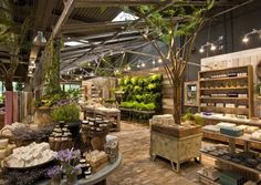 Anthropologie has a garden store? Okay, it's not an Anthropologie store per se, but the garden store Terrain in Westport, CT is owned by the same . The Body Shop, Bath And Body Shop, Body Shop Store, Garage House, D House, Garden Cafe, Garden Shop, Garden Center Displays, Bath Store