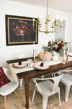Emily Hendersonu0027s 5 Instant Fall Upgrades To Try At Home. Dining Room ...