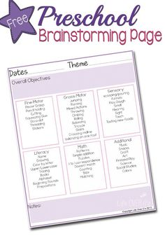 Get a FREE Theme planner for preschool, plus enter to win multiple giveaways for back to school resources!