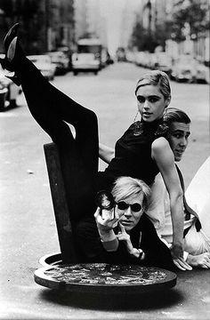 Edie Sedgwick Andy Warhol//
