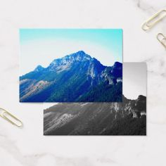 Tatras - Giewont - photographs of mountains Business Card - unusual diy cyo customize special gift idea