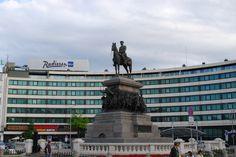 The Monument to the Russian Tsar Liberator in Sofia, Bulgaria