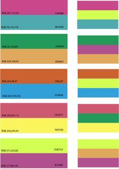 Tropical Color Scheme On Pinterest Interior Color