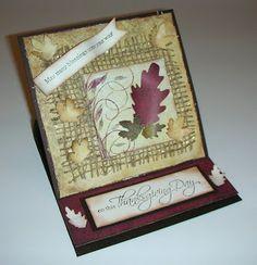 Crafting with Princess Lisa: HC Design Team Non-Winning Card - tattered burlap