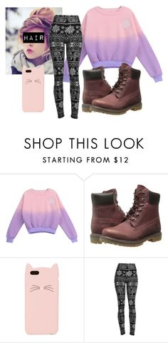 """Untitled #64"" by jmogahed on Polyvore featuring Chicnova Fashion, Timberland, Kate Spade, women's clothing, women, female, woman, misses and juniors"