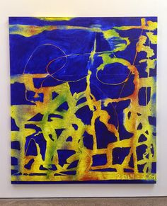 ART BLOG ART BLOG: Chris Martin @ Anton Kern Gallery
