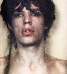 Mick Jagger, David Bailey