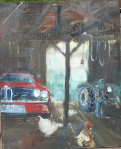 Scheunenkönig Painting, Home, Art, Barn, Pictures, Painting Art, Ad Home, Paintings, Homes