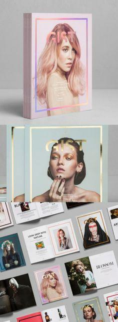 GIST magazine redesign proposal by Anagrama studio.