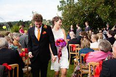 Ali and Lee's Colourful Teepee Wedding
