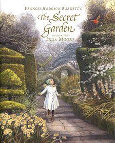 The Secret Garden by Frances Hodgson Burnett - one of my favorite childhood books