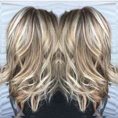 blonde highlights and lowlights - Google Search