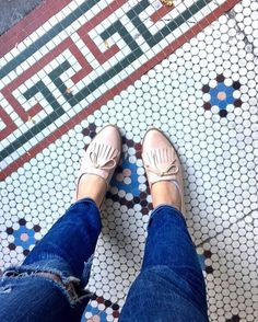 Saturdays are for loafing around. #Regram from where @diosmioitskara stands. #ihavethisthingwithfloors