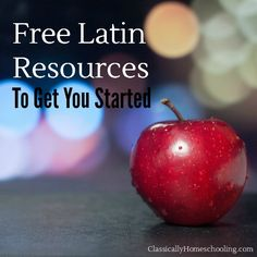 Free Latin explanations, courses, and textbooks to help you start Latin in your homeschool.