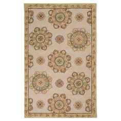I pinned this Ansel Indoor/Outdoor Rug from the French Farmhouse event at Joss and Main!