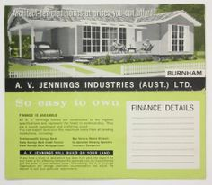 1960s homes | ... Homes at Prices You Can Afford!', Burwood, early 1960s Reg. No: HT