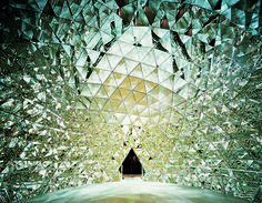 Swarovski Ausstellung - The Crystal Dome by Brian Eno