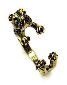 Entzückender Ring englische Bulldogge - Farbe Gold Dreamlife https://www.amazon.de/dp/B01MUG4F9P/?m=A37R2BYHN7XPNV