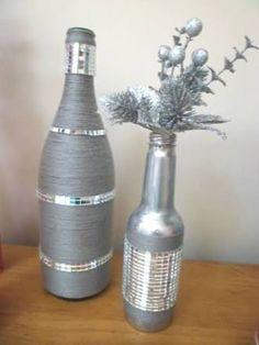 Résultats de recherche d'images pour «vidros e garrafas decorados»