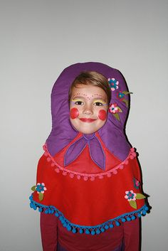 Mila Babushka by MIKO DESIGN, via Flickr /little wooden doll my mom would love this