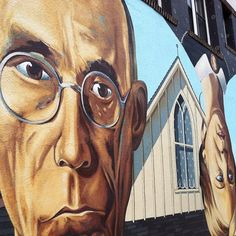 The Short North's take on Grant Wood's classic, American Gothic