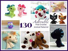 130 Adorable Free Crochet Animal Patterns!