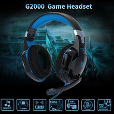 717bd1d89cc USB Fashion Cool Gaming Headset LED PC Over-Ear Noise Isolation in Consumer  Electronics, Portable Audio & Headphones, Headphones